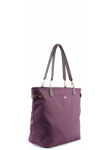 Daily | Plum small bowler bag