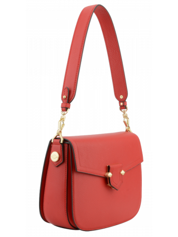 Sèvres | Red large flap bag