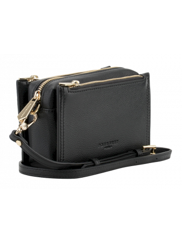 Alesia | Black small flap bag
