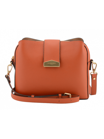 Cavalcade | Orange bowler bag